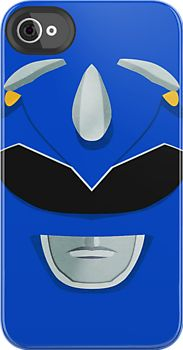 Blue Ranger iPhone Case (http://www.redbubble.com/people/gallantdesigns/works/9122248-blue-ranger)