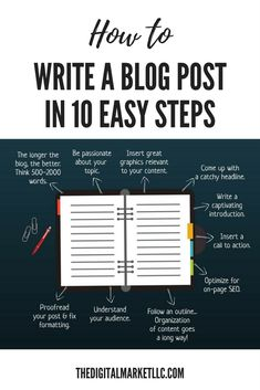Working on writing a blog post for your website? Here's 10 tips to keep in mind! Click to see more blog writing advice to bring your business to the next level! #blog #blogging #bloggers #business