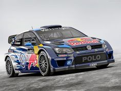 Reigning WRC king Sebastian Ogier gets a new car with a new look ahead of the 2015 World Rally Championship season. This is the new VW Polo R WRC. Volkswagen Polo, Volkswagen Group, Vw Polo R, Le Polo, Rally Car, Car Car, Monte Carlo, Sport Cars, Race Cars