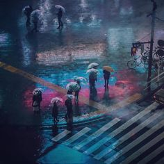 Art Director Liam Wong spends his days directing the visual identityof video games at Ubisoft, while his nights are spent exploring the neon-splashed streets of his city of Tokyo, and sometimes London. Wong places these images, that seem to mimic the appearance of a video game themselves, on In