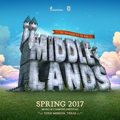 Introducing Middlelands: the three day EDM music festival that will take place in Texas this spring.