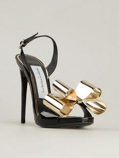 Marco Proietti Design 'metal Bow' Sandals
