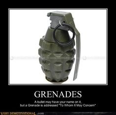 And don't forget the Holy Hand Grenade.