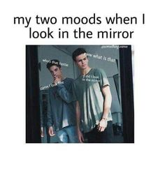 I'm always Daniel when I look in the mirror