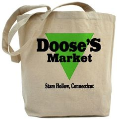 Doose's Market Tote Bag A must have for a fan of the Gilmore Girls