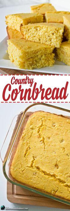 Country Cornbread Recipe