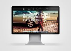 Cruyff brand websites by SuperBruut , via Behance