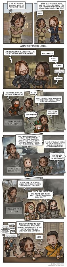 Skyrim: Reluctant Leader by Isriana on DeviantArt. Perfectly describes all my feelings