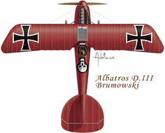 Albatros D.III Brunowski