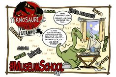 Cantiere #MuseumSchool: seguite il blog http://museumschool-ita.blogspot.it e cominciate a preparare i vostri post!