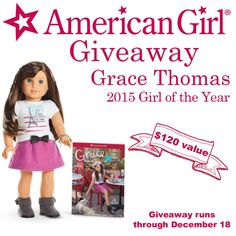 If you have a young girl in your home, chances are you have heard all about Grace Thomas, American Girl's 2015 Girl of the Year. Grace loves to bake with friends and invent new. How To Be Graceful, Grace Love, American Girl Clothes, Good Parenting, All Things Christmas, Best Gifts, Girl Outfits, Dolls, Giveaways