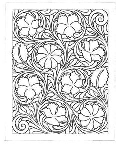 1000 images about leather carving patterns on pinterest for Bronc halter noseband template