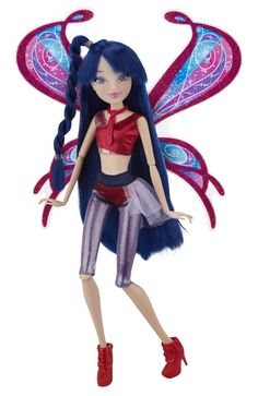 "Amazon.com : Winx 11.5"" Deluxe Fashion Doll Believix - Musa : Winx Club Dolls : Toys & Games"