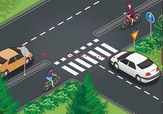 Kuvat: Miksi näitä kolmea väistämissääntöä ei opita millään? Näissä pyöräilijä väistää, näissä autoilija väistää - Kotimaa - Ilta-Sanomat Fair Grounds, Fun, Travel, Viajes, Destinations, Traveling, Trips, Hilarious