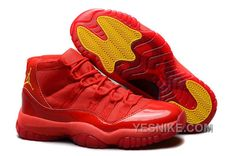 """http://www.yesnike.com/big-discount-66-off-air-jordans-11-retro-red-october-red-varsity-maize-for-sale-fcexb.html BIG DISCOUNT! 66% OFF! AIR JORDANS 11 RETRO """"RED OCTOBER"""" RED/VARSITY MAIZE FOR SALE FCEXB Only $97.00 , Free Shipping!"""