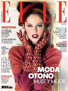 Elle Spain September 2012: Coco Rocha.