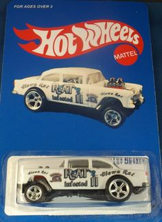 2013  HOT WHEELS  55 CHEVY RAT INFESTED II GASSER
