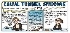 Fun comic on Carpal Tunnel Syndrome. Useful to anyone, including artists :)