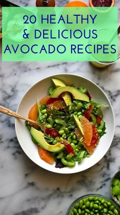 20 Amazing Avocado Recipes To Try Now // In need of a detox? Get your teatox on with 10% off using our discount code 'Pinterest10' on www.skinnymetea.com.au X