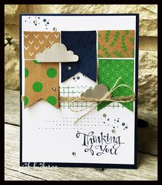 Pink Buckaroo Designs: I just can't get enough of Stampin' Up's Shine on DSP and Sparkle and Shine Stamps
