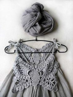 Kumaşla Örgü Kız Çocuk Elbise Modelleri ve Yapılışı 94 - Mimuu.com