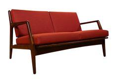 Kofod Larsen, Selig Danish Modern Settee (sofa)