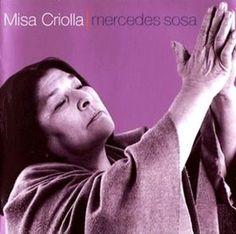 CD Cover for Mercedes Sosa