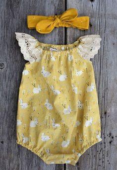 Ideas Baby Girl Romper Pattern For 2019 Baby Girl Romper, Baby Girl Dresses, Baby Outfits, Kids Outfits, Summer Outfits, Baby Romper Pattern, Rompers For Teens, Girls Rompers, Baby Rompers