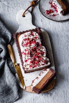 Chocolate Cream Tart #glutenfree #vegan