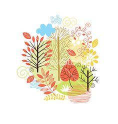 Autumn vector by Lenlis on VectorStock®
