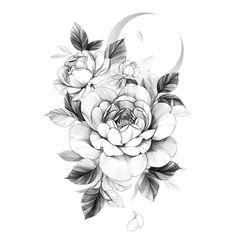 Cute Tattoos, Body Art Tattoos, Sleeve Tattoos, Tattoo Design Drawings, Tattoo Designs, Flower Tattoo Drawings, Peony Flower Tattoos, Traditional Rose Tattoos, Shoulder Tattoos For Women