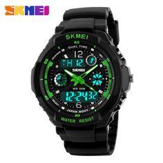 Fashion Men LED Digital Quartz Watch Electronic Outdoor //Price: $11.63 & FREE Shipping //     #hashtag3