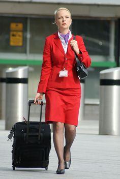 Virgin Atlantic Airways Flight Attendants ~ Cabin Crew Photos