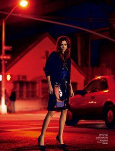 Josephine Skriver by Nicole Heiniger for Elle Brasil January 2014