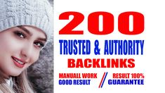 Why my backlinks are best: I will manually create high quality profile backlinks that will increase your website ranking. I always do backlinks to high DA, PA sites. I follow the SEO white hat rules when creating backlinks. So your site just starts to rank. I hope you are well. Thank you so much for your precious time.