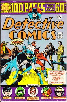 Batman and Green Lantern in Detective Comics 443, Robin, DC Comics, 100 Page…