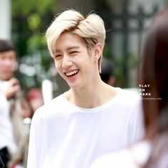 Watch out Markiepooh smile may damage your heart health hehe #got7 #marktuan cr: play on Mark