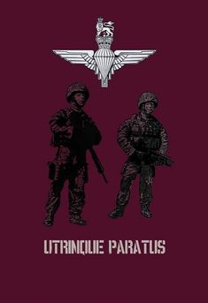 Parachute Regiment, British Armed Forces, British Army, Destiny, Military, Poster, Billboard, Military Man, Army