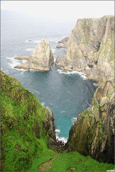 Ireland: Walking the Western Isles - Inish Turk's coastline - Credit: Nathan Borchelt - GORP.com
