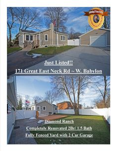 West Babylon- Diamond Ranch Completely Renovated Inside and Out!  Come view all this home has to offer during our Open House Sunday 11-1.  Interested in seeing more click here...  http://obeo.com/1133955