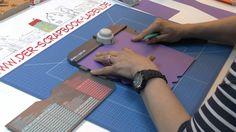 Anleitung für eine Box mit Schraubverschluss unter Verwendung des Envelope Punch Boards, oder - noch besser - des 1-2-3 Punch Boards Shop: www.der-scrapbook-...