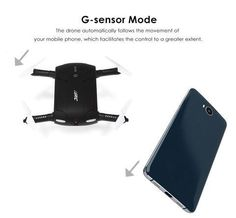 Features: Innovative Folding arms for easy storage and transport Built in Camera that lets you record videos, take aerial pictures and even take selfies Wifi Ph Camera With Flip Screen, Micro Drone, Drone Quadcopter, Drones, Phantom Drone, Drone For Sale, New Drone, Drone Technology, Aerial Photography