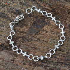 Stijlvolle zilveren armband