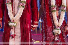We just booked a Hindu wedding where the bride and groom will be wearing garlands like these.
