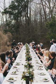 Belle's Catering / NC Farm Wedding / Orangerie Events
