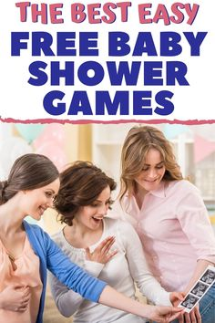 The best FREE Baby Shower Games! 11 fun and easy to play free baby shower games for a baby shower on a budget! Free printable baby shower games AND easy baby shower games that use stuff you already have at home. Try these funny baby shower games that are free and tons of fun at your next shower! #freebabyshowergames #budgetbabyshower #babyshowergames #bestbabyshowergames Baby Shower Charades, Easy Baby Shower Games, Budget Baby Shower, Baby Shower Fun, Baby Showers, Pregnancy First Trimester, Pregnancy Tips, Popular Baby Names, Baby Shower Printables