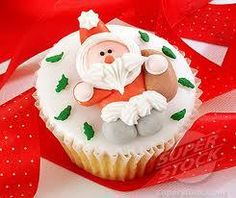 Father Christmas Cup Cakes
