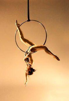 Aerial Ring (The aerial hoop)
