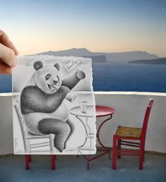 edd8a38bc8dd Incredible Collection of  Pencil Vs. Camera  Art By Ben Heine Ben Heine is  the pioneering genius behind the  Pencil vs Camera  photography.we have  assembled ...