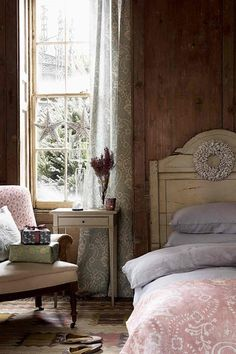 Christmas Decorating Ideas - A Cosy Christmas Bedroom. Deck your halls with these stylish ideas to steal. From fairy lights to trees, get inspired with these fabulously festive Christmas decorating ideas
